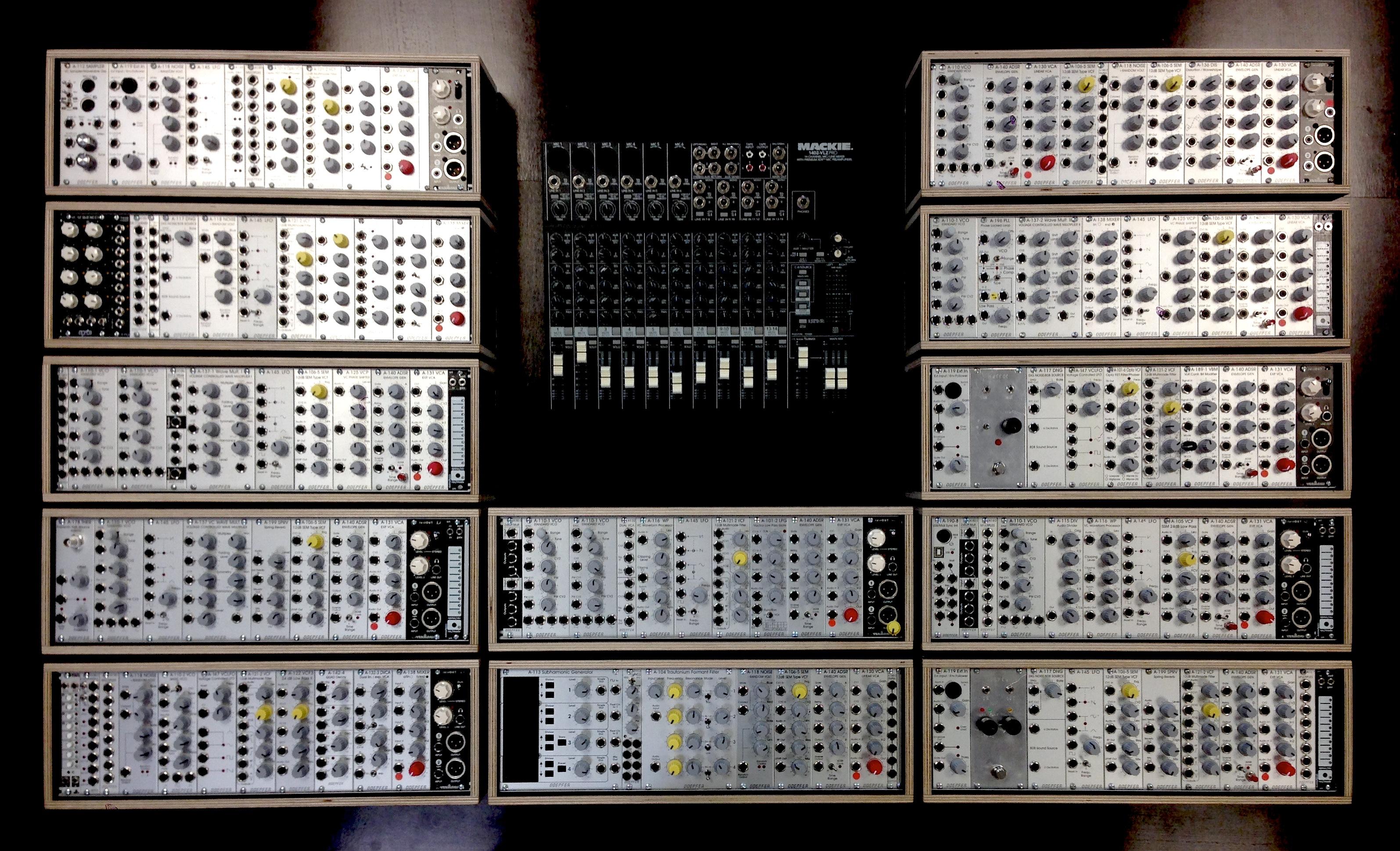modular synthesizer ensemble workshop concert. Black Bedroom Furniture Sets. Home Design Ideas